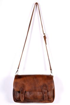 ELECTRA. Leather crossbody bag. Brown leather bag. Oversized leather clutch.. $180.00, via Etsy.