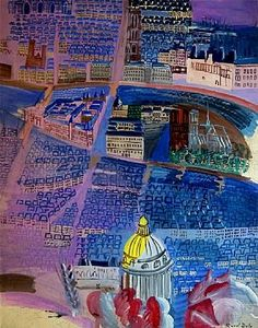 pinkpagodastudio: Joyful Color: Painter and Textile Designer, Raoul Dufy (1877-1953)