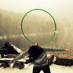 Winter Chest Roll   <3  (Jenn Worroll ) #hoop #hooping #hoopdance