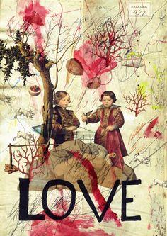 Love (2013) - Misprinted Type. this man's work blows me away!