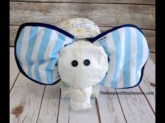 Elephant Diaper Cake DONT WANT TO MAKE ONE? FIND SOME LIKE IT