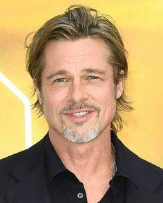 Hollywood Men, Hollywood Stars, Brad Pitt Style, Bradd Pitt, Brad Pitt Hair, Brad And Angelina, Celebrity Haircuts, Day Lewis, Beautiful Men Faces