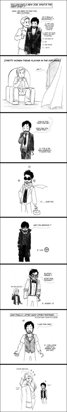Ouat : Shopping Time by floangel on DeviantArt BOW TIES ARE COOL HAHAHHAHAHAHA