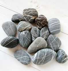 Saint Helena, Flat Stone, Beach Stones, Black Sea, Pebble Art, Minerals, Rocks, Craft, Awesome