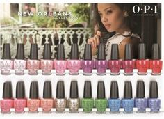 Sneak Peek: OPI New Orleans Spring Summer 2016 Collection