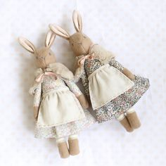 Baby Heirloom Liberty Bunnies