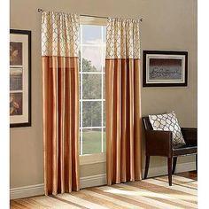 Belle Maison Ludlow Reversible Curtain Panel - Walmart.com