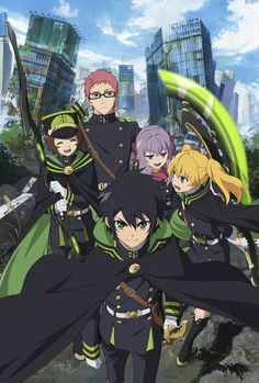 Discovered by MONEY★かわいい♥. Find images and videos about anime, owari no seraph and seraph of the end on We Heart It - the app to get lost in what you love. Anime Eng Sub, Best Action Anime, Grisaia No Kajitsu, Manga Anime, Grimgar, Mikaela Hyakuya, The Ancient Magus Bride, Familia Anime, Seraph Of The End