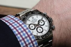 This year at Baselworld, by far, the most talked about watch release has been the Rolex Cosmograph Daytona Ref 116500LN (which replaces Ref. 116520 that was first introduced in 2000). Over the 16 year period, a number of incremental changes have been made to the Daytona Chronograph. The caliber 4130 automatic movement was enhanced with a blue Parachrom hairspring, which improves rate accuracy thanks to its anti-magnetic properties. The previously green Superluminova material was changed to…