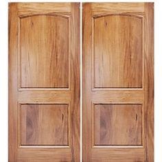 MAI Doors Alpine Square Top Arched Interior Doors in Walnut Doors, Custom Wood, Walnut Doors, Interior Barn Doors, Mediterranean Doors, Custom Wood Doors, Wood Doors Interior, Interior Design School, Doors Interior