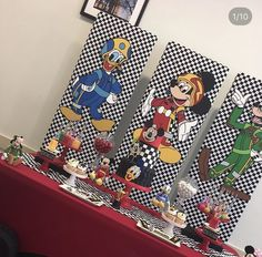 Mickey Mouse Clubhouse Birthday Party, 2nd Birthday Party Themes, Cars Birthday Parties, Mickey Party, Mickey Mouse Birthday, 1st Boy Birthday, Minnie Y Mickey Mouse, Fiesta Mickey Mouse, Mickey Mouse And Friends