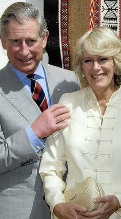 """Camilla Prince Charles …..THEY SEEM TO GET ON VERY WELL TOGETHER --- WHO KNOWS MAYBE THEY WERE """"MADE FOR EACH OTHER""""…………ccp"""