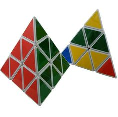 Think I loved Pyraminx even better than Rubiks cube.
