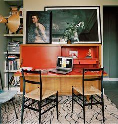 A lovely spot for work: Giambattista Valli's Paris Apartment - Vogue May 2014