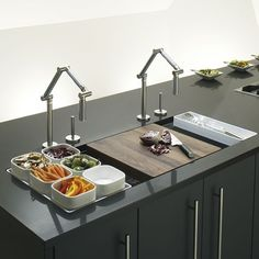 Stages undermounted sink from Kohler