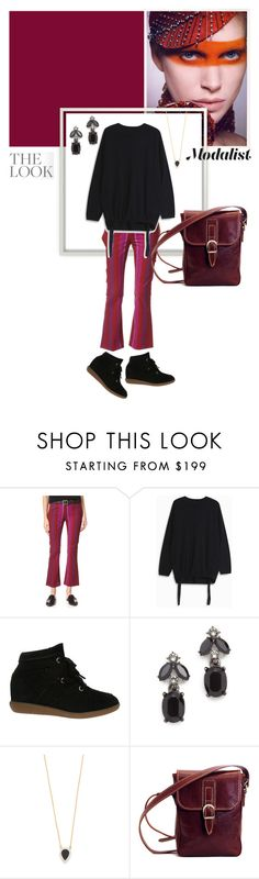 """""""Cashmere Crush"""" by modalist ❤ liked on Polyvore featuring 3x1, E L L E R Y, Isabel Marant, Oscar de la Renta and Adina Reyter"""