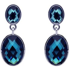 Monet Faceted Montana Drop Earrings, Silver (2.860 RUB) ❤ liked on Polyvore featuring jewelry, earrings, oval earrings, holiday jewelry, silver oval pendant, evening earrings et silver drop earrings