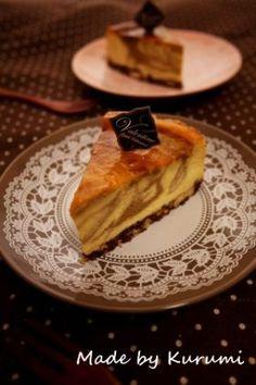 【バレンタイン】ティラミス風チーズケーキ Muffins, Cupcakes, Cheesecakes, Waffles, Sweets, Baking, Breakfast, Recipes, Food