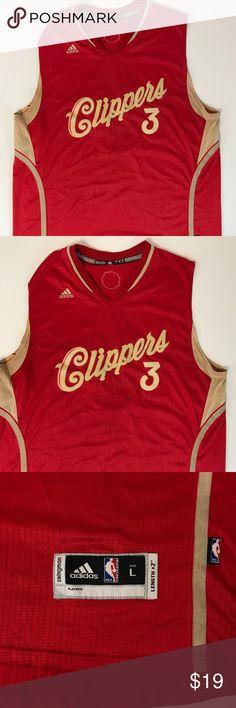 Adidas Mens LA Clippers Chris Paul Jersey SZ Large Gentle light wear.  Measurements  Pit 9e236c9e8