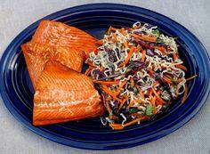 Light Salmon Salad Bowl