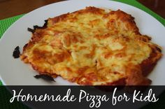 Use your bread maker to make the dough for easy homemade pizzas for the kids.