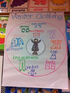 teaching strategies Absolutely awesome lessons to teach for winter, december, january, mlk, and new years Preschool Themes, Preschool Lessons, Preschool Learning, Creative Curriculum Preschool, Winter Fun, Winter Theme, Winter Ideas, Clothing Themes, Thinking Maps