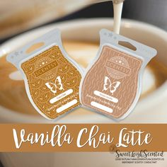 Scentsy Mixer: Combine 1 cube of Cozy Chai with 1 cube of Simply Vanilla to create Vanilla Chai Latte.