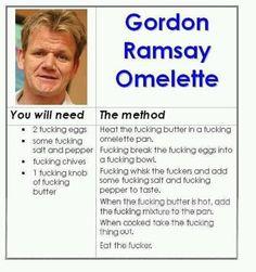 Gordon Ramsay Omelette