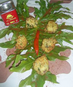 Rellenos de jamón al toque de pimentón ahumado picante La Chinata / Stuffed ham and hot smoked paprika powder La Chinata #recipescontest #concursorecetas #lachinatacom