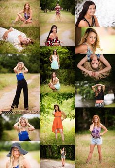 Senior Girl Photography. Senior Girl Poses. Outdoor senior portraits. www.kensiem.com | Winchester Virginia Photographer