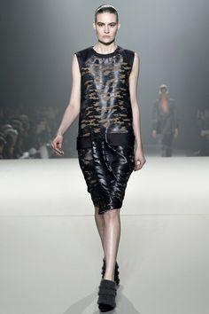 Alexander Wang - Gothic, animal print, leather