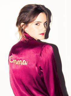 """Inside Emma Watson's Closet: The """"Beauty & the Beast"""" lead gets real(istic) about finding designers on Instagram and how that impulse fast-fashion buy is destroying the planet. 