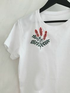 Embroidered t shirt,