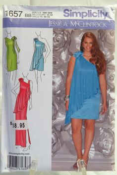 Simplicity 1657 Misses    Plus Size Special Occasion Dress. Plus Size  SewingKwik ... a39669adb