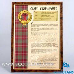 Crawford Clan Histor