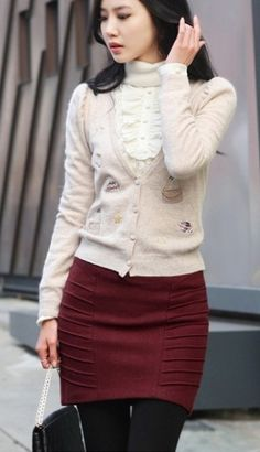 Stylish Hot Sale Slim Noble Charming Skirt Rusty on Buytrends.com, only price $12.84