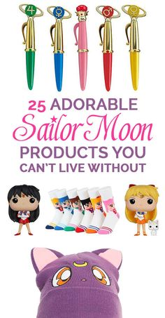 """25 Adorable """"Sailor Moon"""" Products You Can't Live Without- For Lily"""