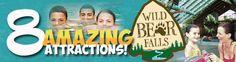 Gatlinburg Indoor Water Parks – Wild Bear Falls – Westgate Smoky Mountain  River Terrace Resorts Gatlinburg