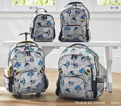 Allover Batman™ Backpacks | Pottery Barn Kids