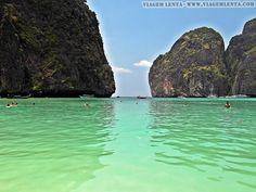 Dias 87 a 90 da viagem: Krabi, Au Nang e Koh Phi Phi, Tailândia - Viagem Lenta Krabi, Rio, Golf Courses, Water, Outdoor, Littoral Zone, City, Pictures, Gripe Water