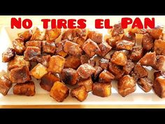 Dulce y Crujiente 4 INGREDIENTES Palomitas de PAN MUY BARATO caramel bread popcorn en ESPAÑOL - YouTube Pop Corn, Canapes, Baking Recipes, Biscuits, French Toast, Bread, Snacks, Make It Yourself, Breakfast