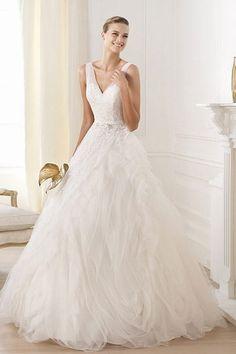 Vestido de novia corte A de Pronovias - Vestidos de novia 2014: ¿cuál será el tuyo?
