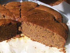Made with coconut oil yummm. From Quirky Cooking: Flourless Nut Cakes Pan Dulce, Chorizo, Sweet Recipes, Cake Recipes, Bellini Recipe, Salsa, Quirky Cooking, Flourless Cake, Dulce De Leche