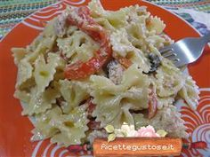 Pasta fredda peperoni e tonno! #pasta #pastafredda #peperoni #tonno #ricettegustose