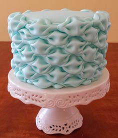Cake Blog: Billowed Fondant Tutorial