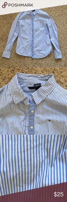 Tommy Hilfiger shirt Perfect condition! Wore one time to NYC! Tommy Hilfiger Tops Button Down Shirts