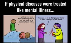 Depression is an illness — not a choice!