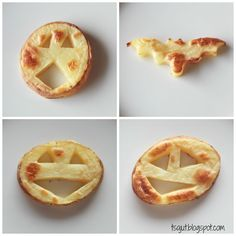 Jack-o'-lantern potato