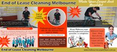 Look at this web-site http://www.melbournecarpetclean.com.au/ for more information on Vacate cleaning melbourne. Vacate cleaning melbourne is one of the most recommended ways of cleaning for most carpets; however, it is vital that you make sure that the process will not damage your type of carpet. The steam cleaning process involves the drawing the dirt to the surface of the carpet and removing it before it has a chance to stain.