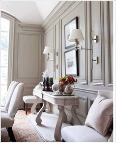6 Wise Tips AND Tricks: Interior Painting Living Room Ottomans interior painting colors farrow ball.Interior Painting Colors For Living Room interior painting palette design seeds. Classic Interior, Home Interior, Interior Design, Interior Door, Brown Interior, Casa Milano, Wall Molding, Moulding, Moldings And Trim